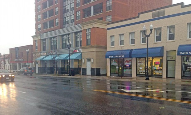 Columbia Pike commercial buildings