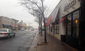 Storefronts on Columbia Pike