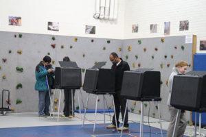 Barrett Elementary School polling place 11/5/13