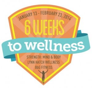 6 Weeks to Wellness poster
