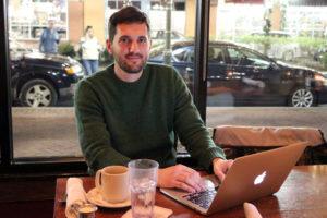 Everylog founder Joe Zacyzk