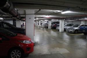 Parking garage in Rosslyn