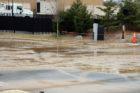 16-inch water main breaks in Shirlington
