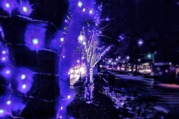 """Blue Light Special"" in Clarendon (Flickr pool photo by Christaki)"