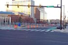 Construction on S. Hayes Street in Pentagon City