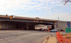 Washington Blvd bridge over Columbia Pike