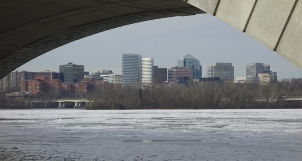 Ice on the Potomac (Flickr photo by J. Sonder)