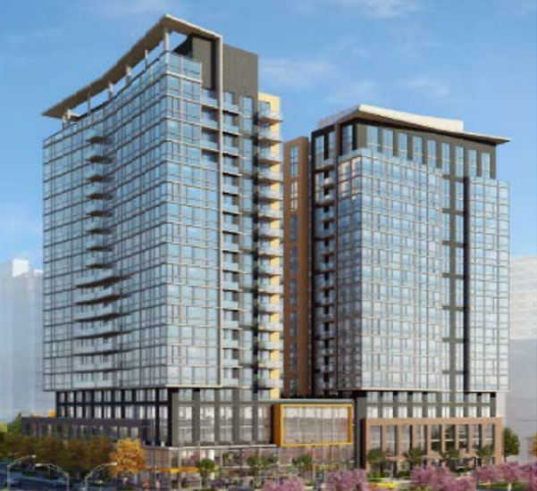 Apartments could replace vacant pentagon city office building - The modern apartment in the old school ...