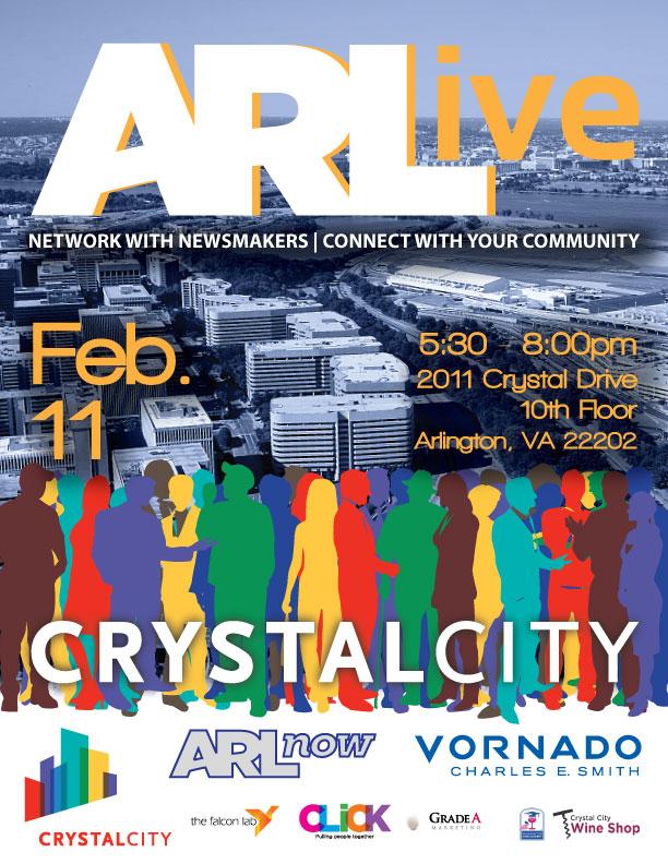 ARLive event flyer