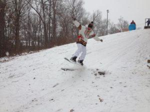 Snowboarding near Doctors Run on 1/21/14 (photo courtesy @maddogrow)