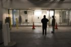 Car crashes into elevator in Rosslyn parking garage
