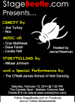 Comedy Spot Variety Show flyer