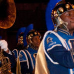 Ballou Band at Mardi Gras Parade