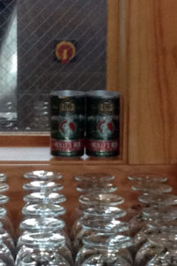 Cans of Reilly's Red Ale