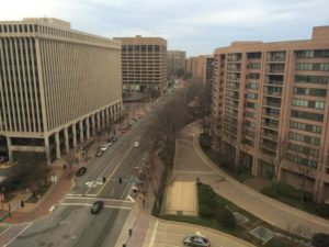 The view from our ARLive event space at 2011 Crystal Drive in Crystal City
