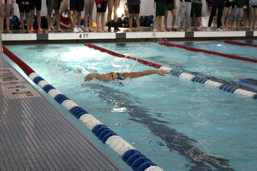 The Conference 6 High School Swimming Championships At Yorktown Pool
