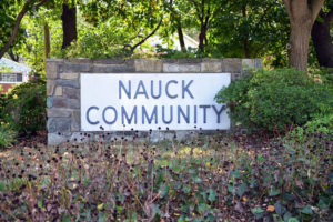 Nauck Community sign (photo via Nauck Civic Association web site)
