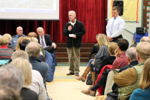 Williamsburg Civic Association meeting after pedestrian death