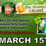 The Shamrock Crawl flyer
