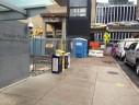 Pedestrian safety hazard at the Rosslyn Metro station