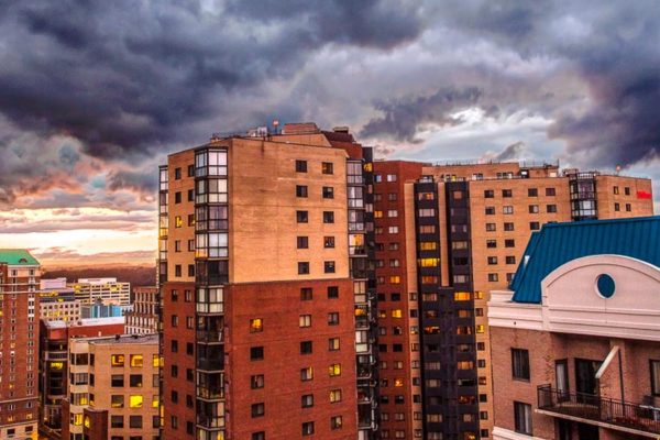 Stormy Ballston sunset (Flickr pool photo by Rpcann)