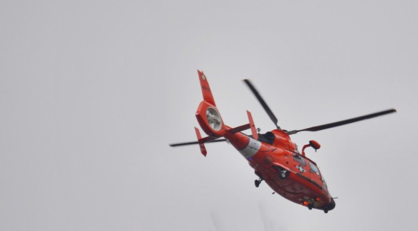 Coast Guard helicopter (Flickr pool photo by J. Sonder)