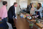 Sen. Mark Warner tours Crystal Tech Fund in Crystal City