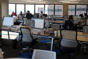 Crystal Tech Fund's coworking space in Crystal City