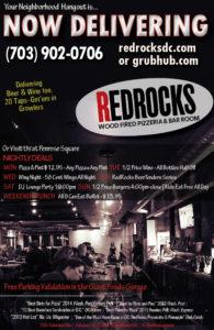 RedRocks delivery flyer