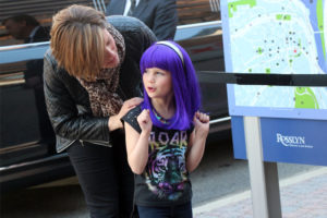 A 5-year-old girl's wish to be a pop star comes true in Rosslyn