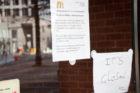 Rosslyn McDonald's closes