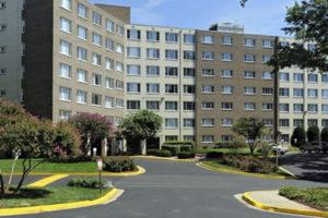 Serrano apartments on Columbia Pike