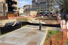 New temporary park in Courthouse