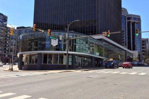 Retail space at 1500 Wilson Blvd