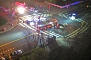 Police-involved crash at Clarendon Blvd and N. Barton Street (courtesy photo)