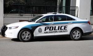 Arlington police car
