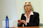 Barbara Kanninen in the 4/22/14 School Board debate