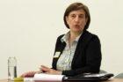 Nancy Van Doren in the 4/22/14 School Board debate