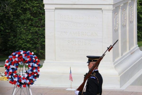 Tomb of the Unknowns on Memorial Day (Flickr pool photo by Brian Allen)