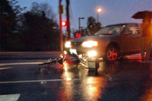 Bike crash in Rosslyn (photo courtesy Lindsey Kelley)