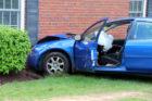 Car crashes into Gates of Ballston building 5/1/2014