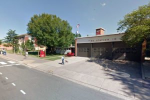 Fire Station 10 in Rosslyn (photo via Google Maps)