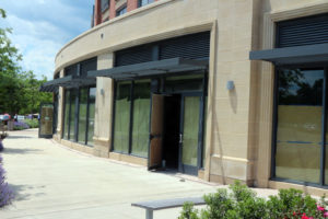 Streets Market under construction on N. Pershing Drive