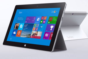 Microsoft Surface tablet  (photo via Microsoft