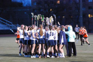 W-L girls lacrosse (photo via Washington-Lee athletics)