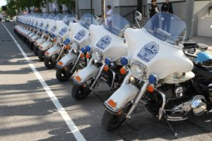 Arlington County Police Department motorcycles