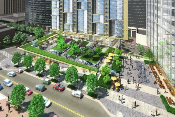 1401 Key Blvd development rendering