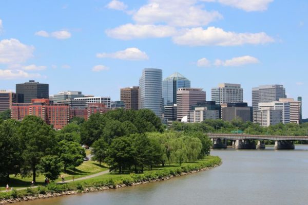 Rosslyn skyline (Flickr pool photo by Brian Allen)