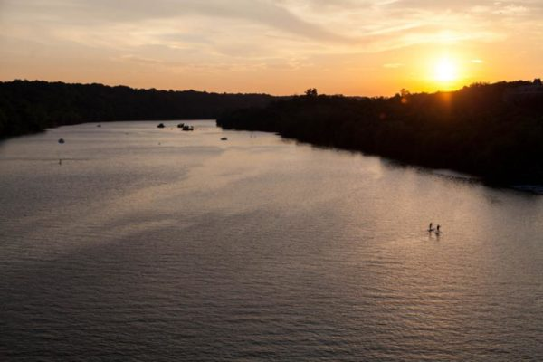 Sunset Paddle (Flickr pool photo by David Bender)