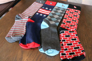Some sample socks by Boldfoot